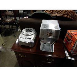 Delonghi espresso machine with Breville blender motor