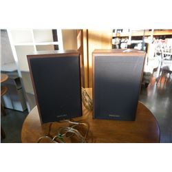 PAIR OF TECHNICS SB-C250 SPEAKERS