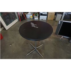 ROUND BON APPETIT METAL BASE TABLE