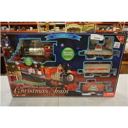 NORTH POLE JUNCTION CHRISTMAS TRAIN IN BOX