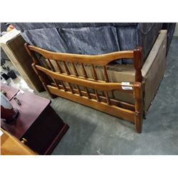 DOUBLE SIZE MAPLE BED FRAME