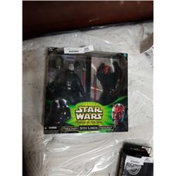 STAR WARS SITH LORDS FIGURES