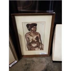 LEP 1958 signed lithograph