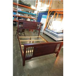QUEEN SIZE PINE BED FRAME