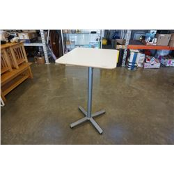 TALL WHITE BISTRO TABLE
