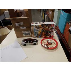 MICKEY MOUSE CLOCK, PIRATE LEGO SET AND DODGE SRT 1/24 SCALE DIE CAST