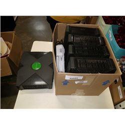 BOX OF ORIGINAL XBOX CONSOLES AND PLAYSTATION
