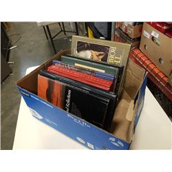 BOX OF COFFEE TABLE BOOKS, ROBERT BATEMAN AND OTHERS
