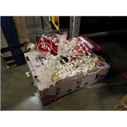 BOX OF CHRISTMAS DECOR