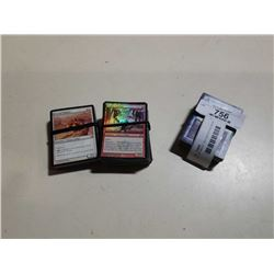 LOT OF MAGIC THE GATHERING AND MY LITTLE PONY CARDS