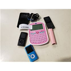 LOT OF MP3 PLAYERS AND ELECTRONICS