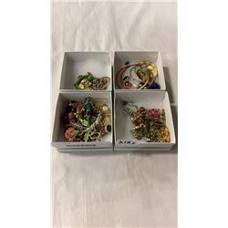 4 TRAYS OF VARIOUS JEWELLERY