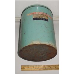 Attic as is find antique 1LB White Petrolatum  Toronto Montreal Calgary Vancouver Canada old tin