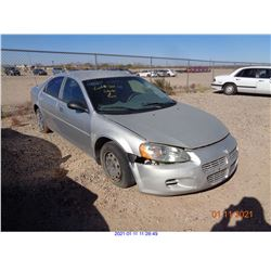 2002 - DODGE STRATUS/RESTORED SALVAGE