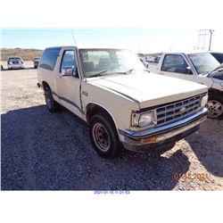 1985 - CHEVROLET S10 BLAZER