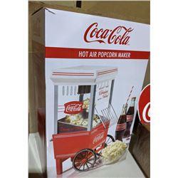 New Coca-Cola hot air popcorn maker
