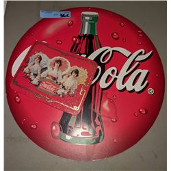 Cool Coke reproduction signs, one from 1994