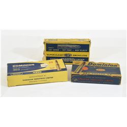 61 Rounds Vintage 303 Savage Ammunition