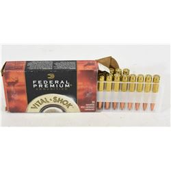 19 Rounds of 338 Federal 185gr Barnes Triple Shock