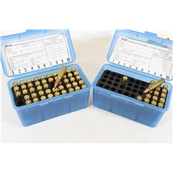 65 Rounds of Reloaded 338-08 Ammo