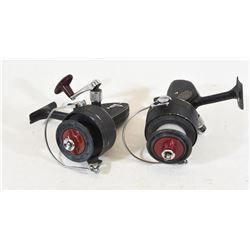 2 D.A.M. Quick Fishing Reels