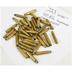 223 Winchester 40 Rounds of Brass