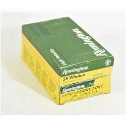 40 Rounds Remington 35 Whelen Ammunition