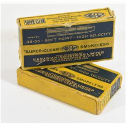 28 Pieces 38-55 Used Casings In Vintage CIL Boxes