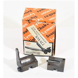 "Lyman One Cavity 30 Caliber Mold 309"" Diameter"