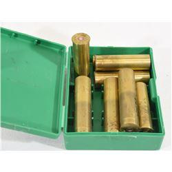 8 Brass 10 Gauge Shells