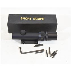"""Short Scope"" 1.5-4x16mm w/ 22 Mount"