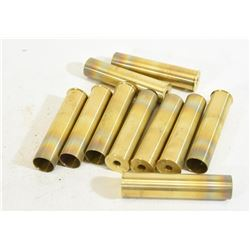 "10 Unprimed Brass 12 Gauge 3 1/2"" Shells"