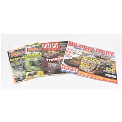 Military Magazines & Softcover Lot