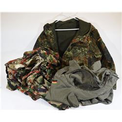 Box Lot Military Clothing