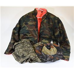 Box Lot  Camouflage Clothing