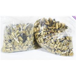 1130 Pieces 9mm Brass