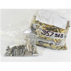 772 Pieces 357 Fired Brass