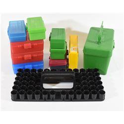 11 Various Plastic Bullet Cases