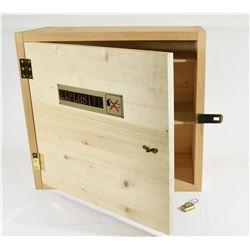 Homemade Lockable Pine Powder/Primer Storage Box