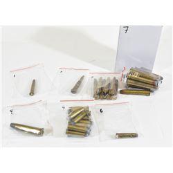Box Lot Vintage Rimmed Rifle Ammunition
