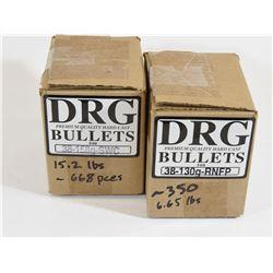 1018 Pieces 38 Caliber Projectiles