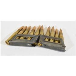 1938 8X56R Ammunition and Clips