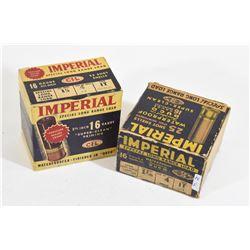 Vintage Imperial 16 Gauge Shotshells