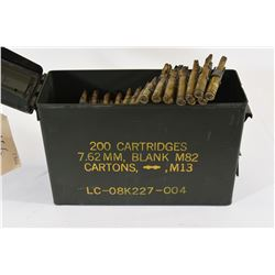 Ammo Can with Fired 7.62x51 NATO Blanks