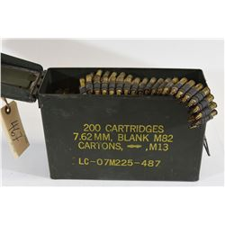 Ammo can Fired 5.56x45mm NATO Blanks