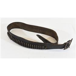 Vintage Leather Cartridge Belt