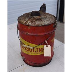Vintage Gasoline Can