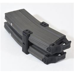 2 Pinned AR Magazines in MAG GRIP