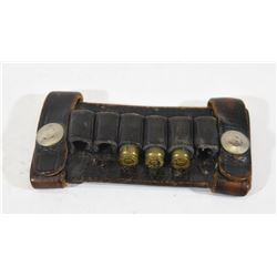 Leather Belt Slide Ammunition Carrier