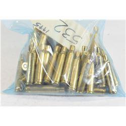 Primed 6.5x55 Brass